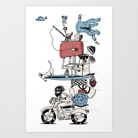 Move On Art Print