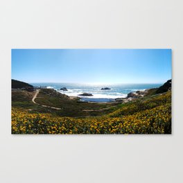 San Francisco Sutro Baths Canvas Print