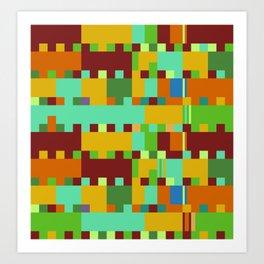 Chopin Fantaisie Impromptu (Intense Colours) Art Print