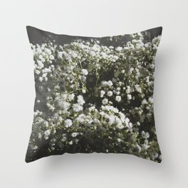 baby's breath 2 Throw Pillow