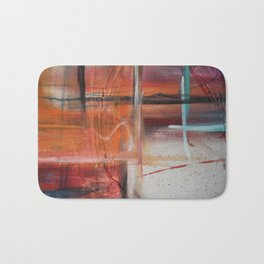 Acrylic Chaos Bath Mat