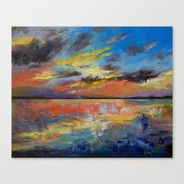 Key West Florida Sunset Canvas Print