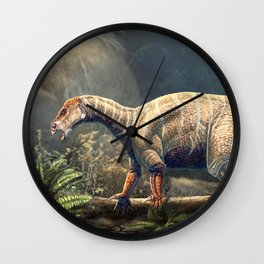 Iguanodon Bernissartensis Restored Wall Clock