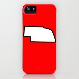 Nebraska iPhone Case