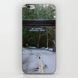 Mount Rainier iPhone Skin