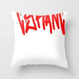 """TYRANT """"Mop"""" Throw Pillow"""