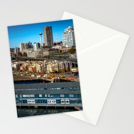 Seattle Space Needle and Aquarium Stationery Cards