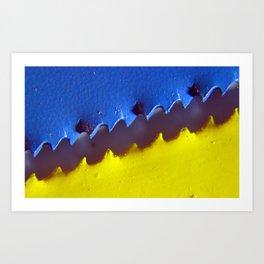 Cutting Edge  Art Print