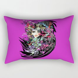 Carnival woman Rectangular Pillow
