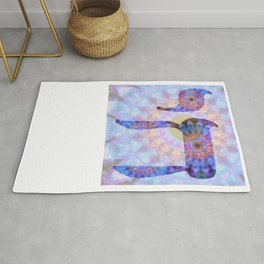 Colorful Art - Chai 2 - Sharon Cummings Rug