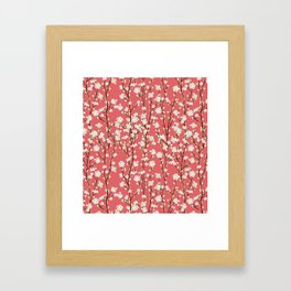 Go Orient Cherry Blossoms Framed Art Print