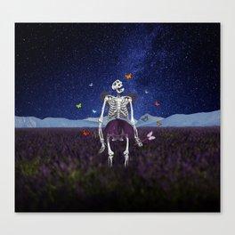 Death Fairy Helper Canvas Print