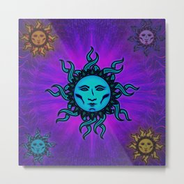 Sublime Moon Tapestry #1 Metal Print