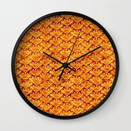 Digital knitting pattern Wall Clock