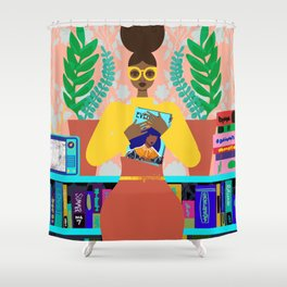 Gemini Interior Shower Curtain