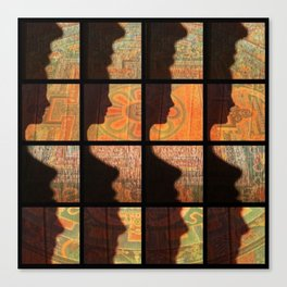 Fax Shadow Canvas Print