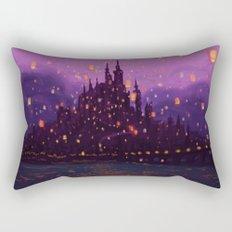 Portrait of a Kingdom: Corona  Rectangular Pillow