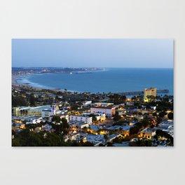 Down town Ventura, CA. Canvas Print