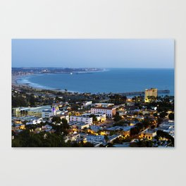 Down town Ventura, CA. Canvas Print