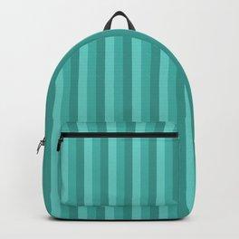 P312020 Stripe Turquoise Sea Backpack