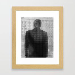 NOT JUST A NUMBER Framed Art Print