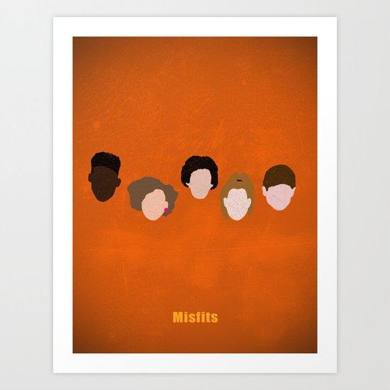 Minimalism Misfits  Art Print