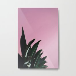 Abstract Pineapple Crown Metal Print