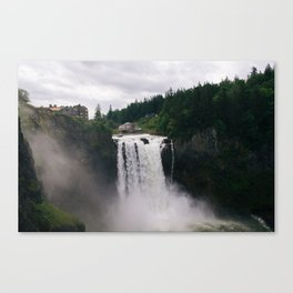 Twin Peaks - Snoqualmie Falls Canvas Print