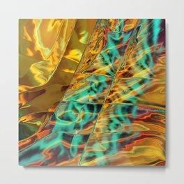 Microscopic Lightspeed Metal Print