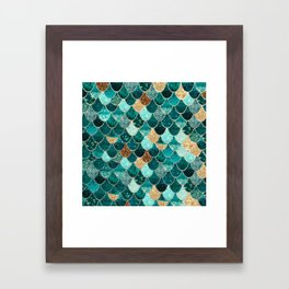REALLY MERMAID Framed Art Print