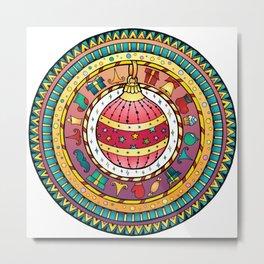 Christmas Ball - Magic Ball Metal Print