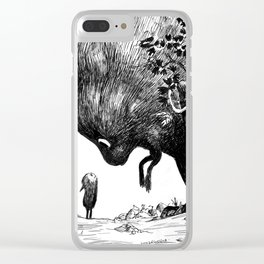 encounter Clear iPhone Case