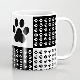 Footprint dog Coffee Mug
