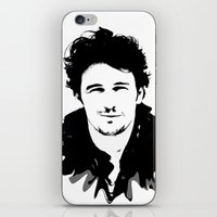 james franco iPhone & iPod Skins featuring james franco by looseleaf