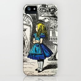 Blonde Girl Called Alice iPhone Case