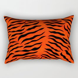 The tiger Rectangular Pillow