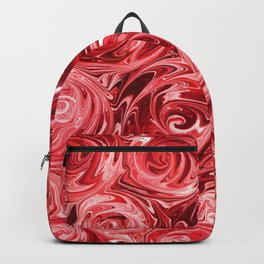 Ruby Red Roses Backpack
