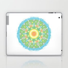 play outdoors mandala Laptop & iPad Skin