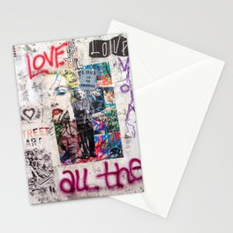 Tel Aviv Street Art / Love is the answer Stationery Cards