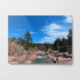 castor river shut-ins V Metal Print