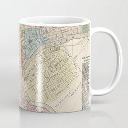 Vintage Map of Newark NJ (1879) Coffee Mug