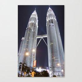 malaysia - petronas twin towers  Canvas Print