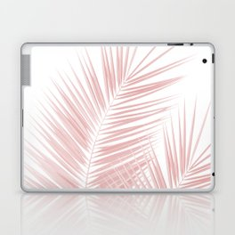 Blush Pink Palm Leaves Dream - Cali Summer Vibes #1 #tropical #decor #art #society6 Laptop & iPad Skin