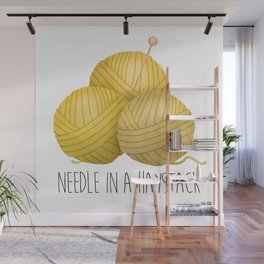 Needle In A Haystack Wall Mural