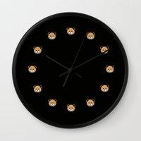 moschino Wall Clocks featuring Teddy Bear, Moschino Toy by cvrcak