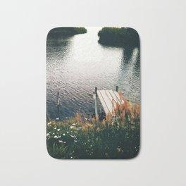 Flower Lake Bath Mat