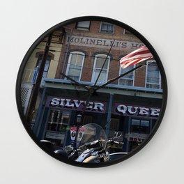 Silver queen Virgina city Nevada Wall Clock