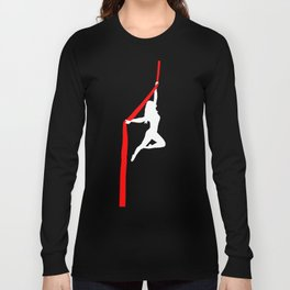 Aerialist Silks Spilt Sugar Long Sleeve T-shirt