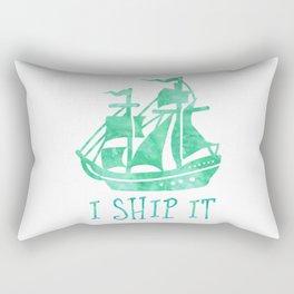 I Ship It - Watercolour Rectangular Pillow