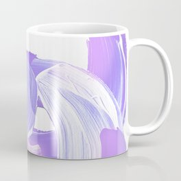 Shades of Purple Brush Stroke pattern #abstractart Coffee Mug